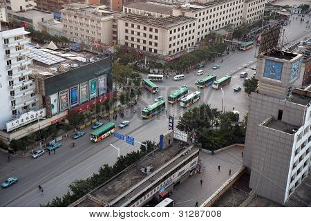 Kunming City Rush Hour