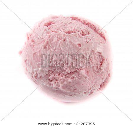 Strawberry Icecream Ball
