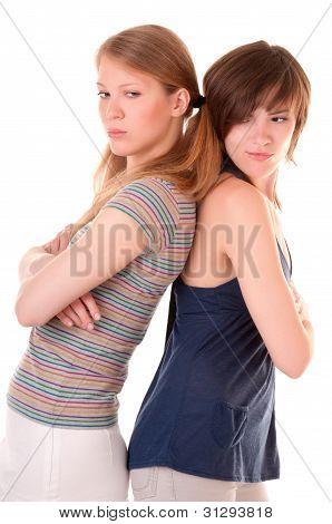 Conflict between two friends