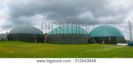 Biogas Plant For Generating Electricity And Generating Energy During