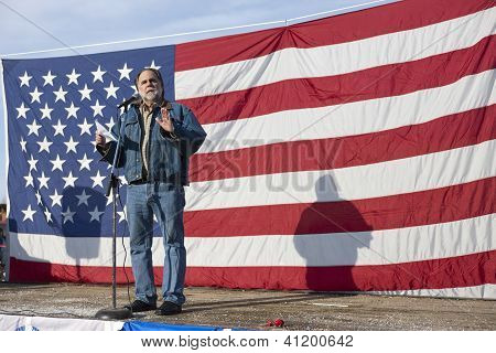 Vito Barbieri At Pro Gun Rally.