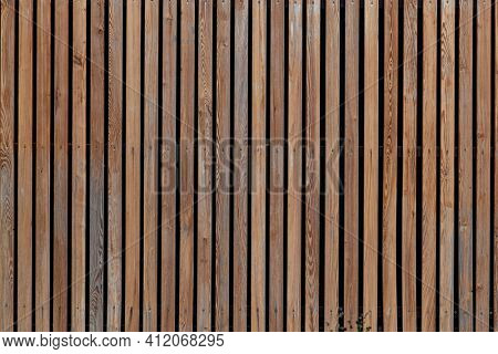 Brown wooden wall texture for background