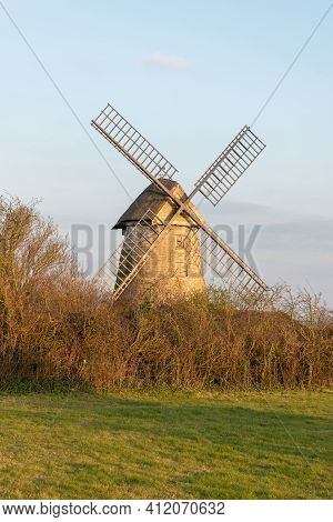 High Ham.somerset.united Kingdom.march 7th 2021.view Of Stembridge Mill In High Ham In Somerset.the