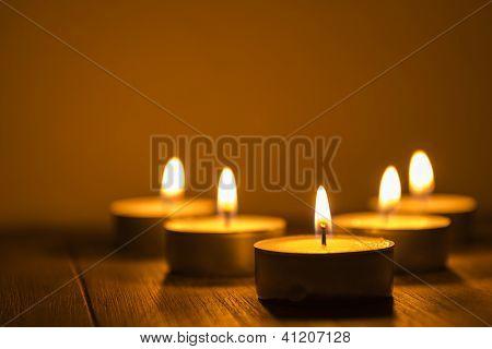 Five Tea Lights