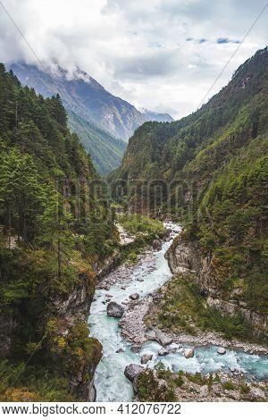 Bhote-khosi River Valley, Nepal