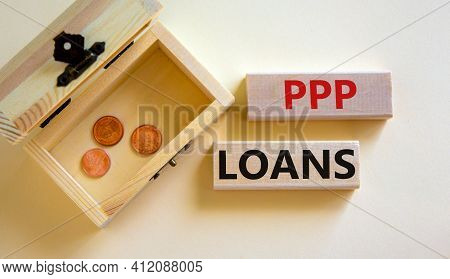 Ppp, Paycheck Protection Program Loans Symbol. Concept Words Ppp, Paycheck Protection Program Loans