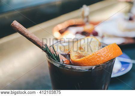 Orange Juice Espresso With Ice, Black Coffee Tonic Is The New Iced Coffee With Orange Juice. Cocktai