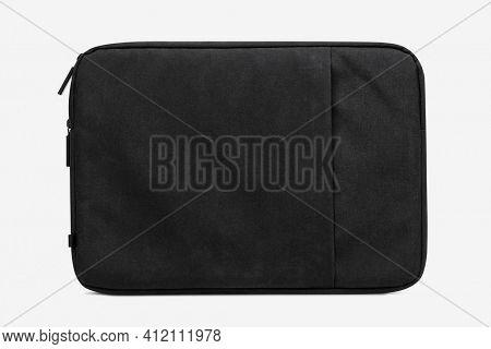 Simple black laptop sleeve computer accessories