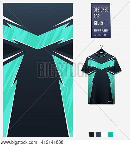 Fabric Textile Design For Sport T-shirt, Soccer Jersey, Football Kit, E-sport Shirt, Bicycle, Basket