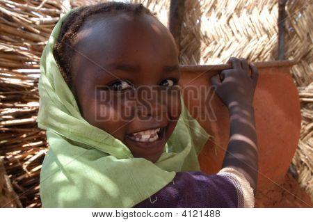 sudanesische Mädchen