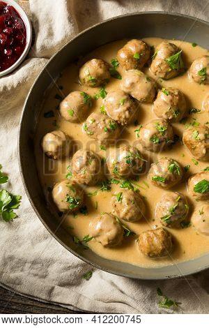 Homemade Healthy Swedish Meatballs