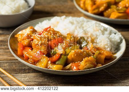 Homemade Chinese Sweet And Sour Chicken