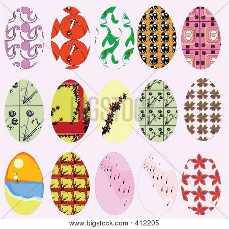 1970s Easter Eggs