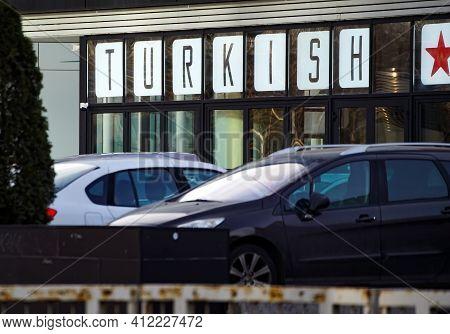 Bucharest, Romania - January 21, 2021: Turkish Kitchen Bucharest Restaurant In The North Of Buchares