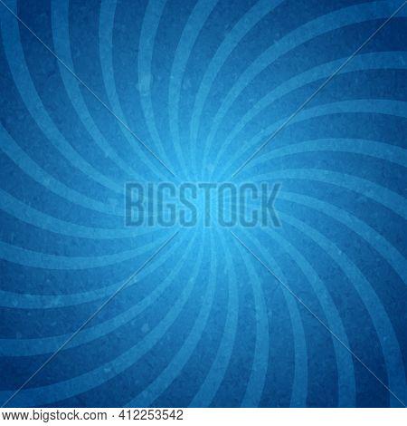 Abstarct Starburst Spiral Background Poster Vector Illustration