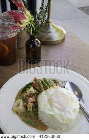 Easy Meal Set Of Thai Street Food, Stock Photo