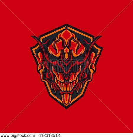 Hell Fire For Mascot, Logo Or Other