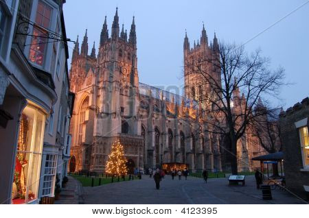 Canterbury Catherdral Christmas