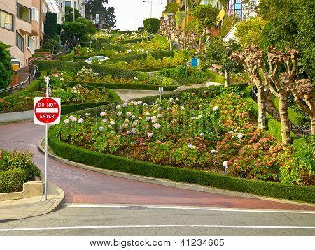 Lombard Street From Below