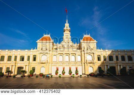 Ho Chi Minh City People Committee Head Office At Saigon, Vietnam