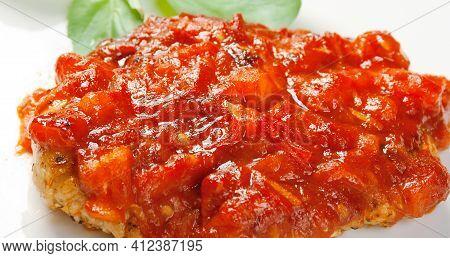 Bistecca Alla Pizzaiola, Dish Derived From The Neapolitan Tradition