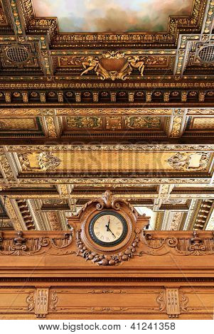 O'clock In The New York Public Library