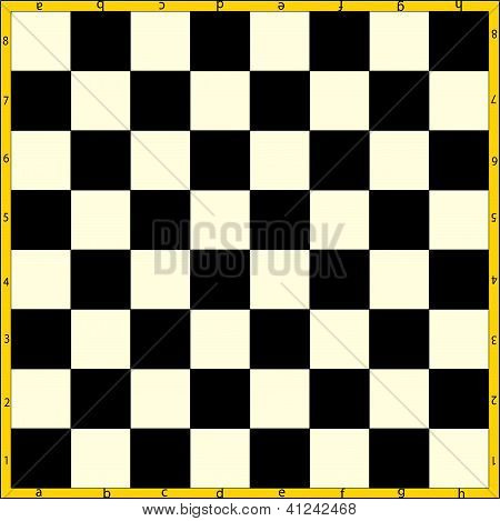 The Field For Chess.