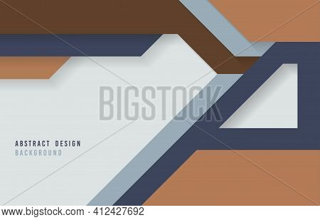 Abstract Tech Design Artwork Design Of Minimal Style Geometric Template. Free Space Of Texting Backg