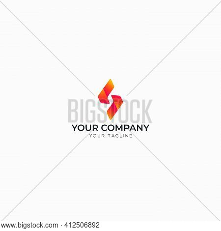 Simple Letter S Logo Design S Gradient Logo