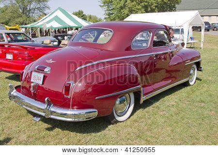 1948 Desoto Car Rear View
