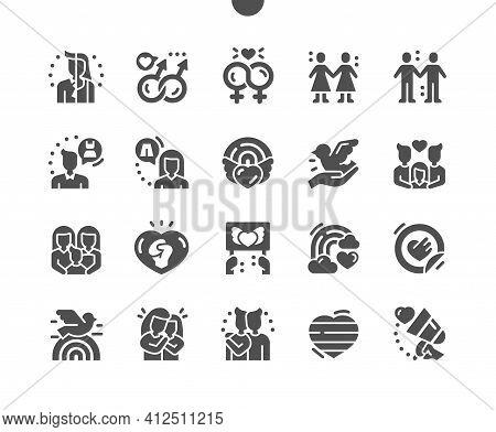 Lgbt Or Glbt. Rainbow Heart. Transgender. Rights, Social, Relationship, Together, Gender, Human, Pri