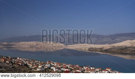 Seascape in Croatia, Adriatic sea, Dalmatia, Europe.