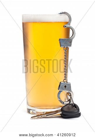 Keys, Cuffs, And Alcohol