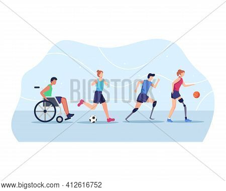 Sports People With Disabilities