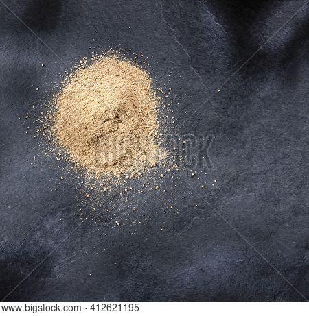 Lepidium Meyenii - Organic Maca Powder. Healthy Food