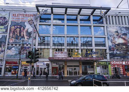Cinestar Movie Theater In Berlin Hellersdorf - Berlin, Germany - March 11, 2021