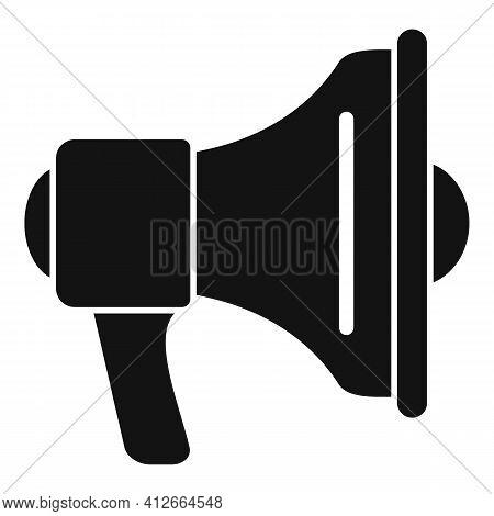 Affiliate Marketing Megaphone Icon. Simple Illustration Of Affiliate Marketing Megaphone Vector Icon