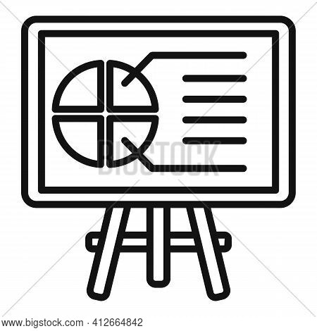 Affiliate Marketing Banner Icon. Outline Affiliate Marketing Banner Vector Icon For Web Design Isola
