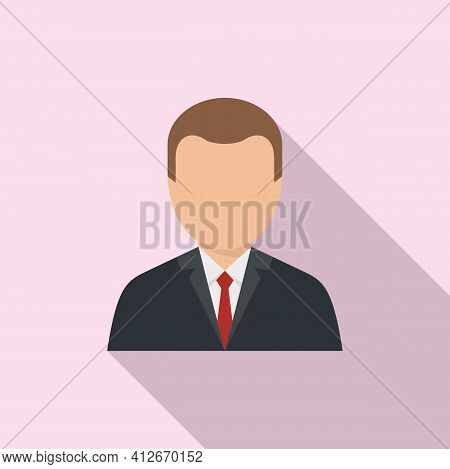 Tax Inspector Icon. Flat Illustration Of Tax Inspector Vector Icon For Web Design