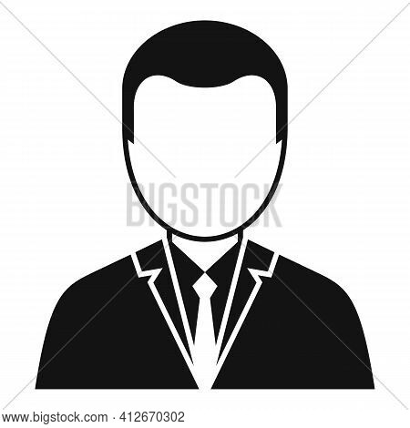 Tax Inspector Icon. Simple Illustration Of Tax Inspector Vector Icon For Web Design Isolated On Whit