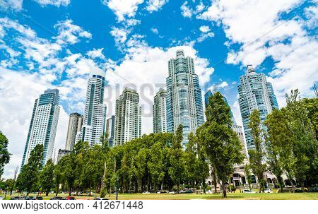 Puerto Madero District In Buenos Aires, Argentina