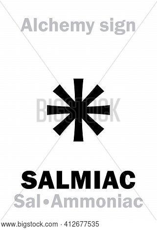 Alchemy Alphabet: Sal-ammoniac (sal Ammoniacus, Sal Volatile), Sal Ammiac, Salmiac, Sal Armagnac (sa