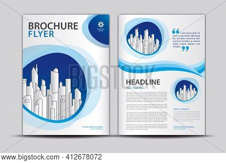 Brochure Flyer Template, Business Cover Background, Brochure Layout, Cover Design, Annual Report Cov