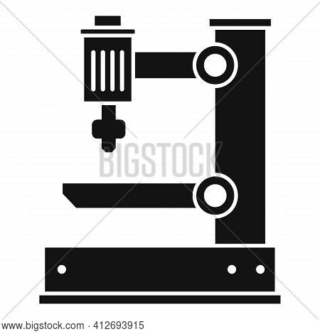 Electric Milling Machine Icon. Simple Illustration Of Electric Milling Machine Vector Icon For Web D
