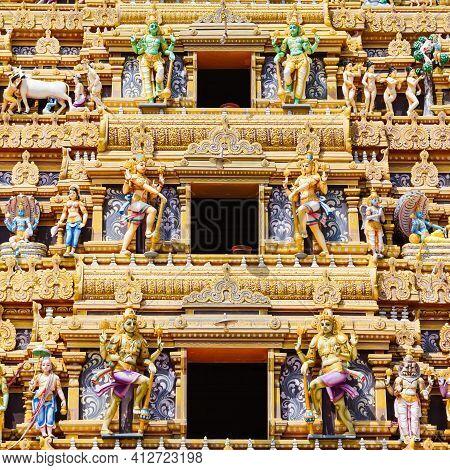 Vallipuram Alvar Or Valipura Aalvar Vishnu Kovil Is A Hindu Temple Near Jaffna, Sri Lanka. Vallipura