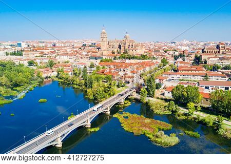 Salamanca Cathedral In Salamanca, Spain