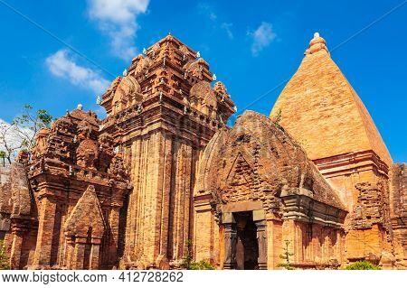 Ponagar Or Thap Ba Po Nagar Is A Cham Temple Tower Near Nha Trang City In Vietnam
