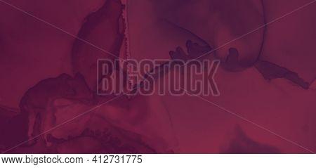 Red Wine Splash. Watercolour Template. Graphic Alcohol Cover. Bright Maroon Pattern. Color Wine Spla