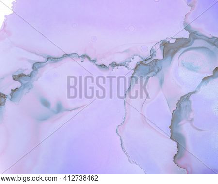 Ethereal Water Pattern. Liquid Ink Wave Background. Pink Modern Drop Canvas. Contemporary Flow Desig