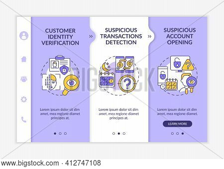 Identity Recognition Onboarding Vector Template. Unsecured Account. Risk Of Privacy Data Breach. Res